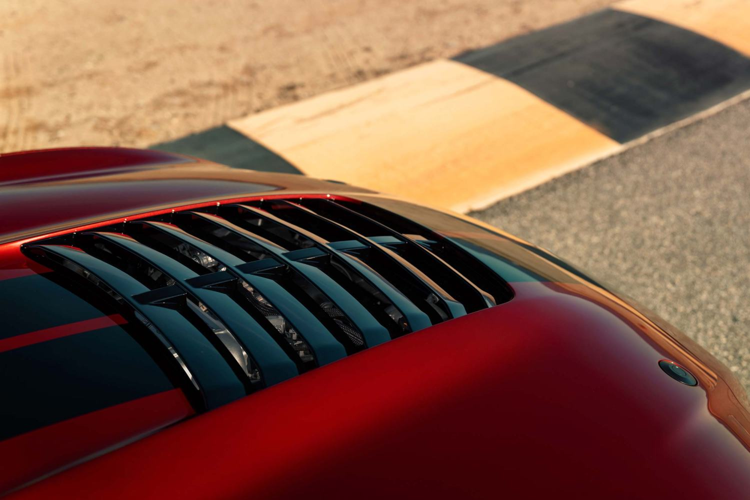 2020 Mustang Shelby GT500 hood vent
