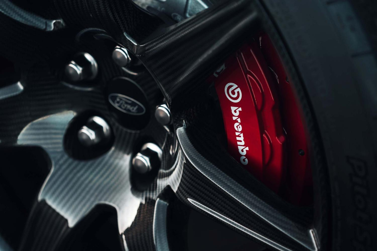 2020 Mustang Shelby GT500 brakes