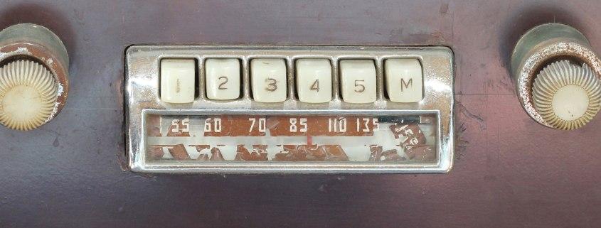 1947 car radio