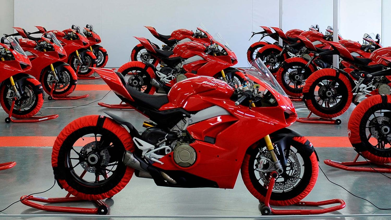 Ducati Panigale V4 press launch
