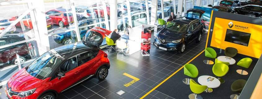 Renault UK dealer