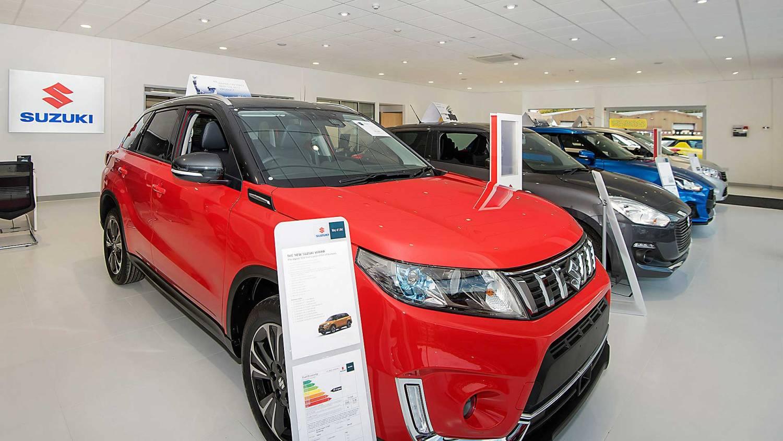 Suzuki car showroom