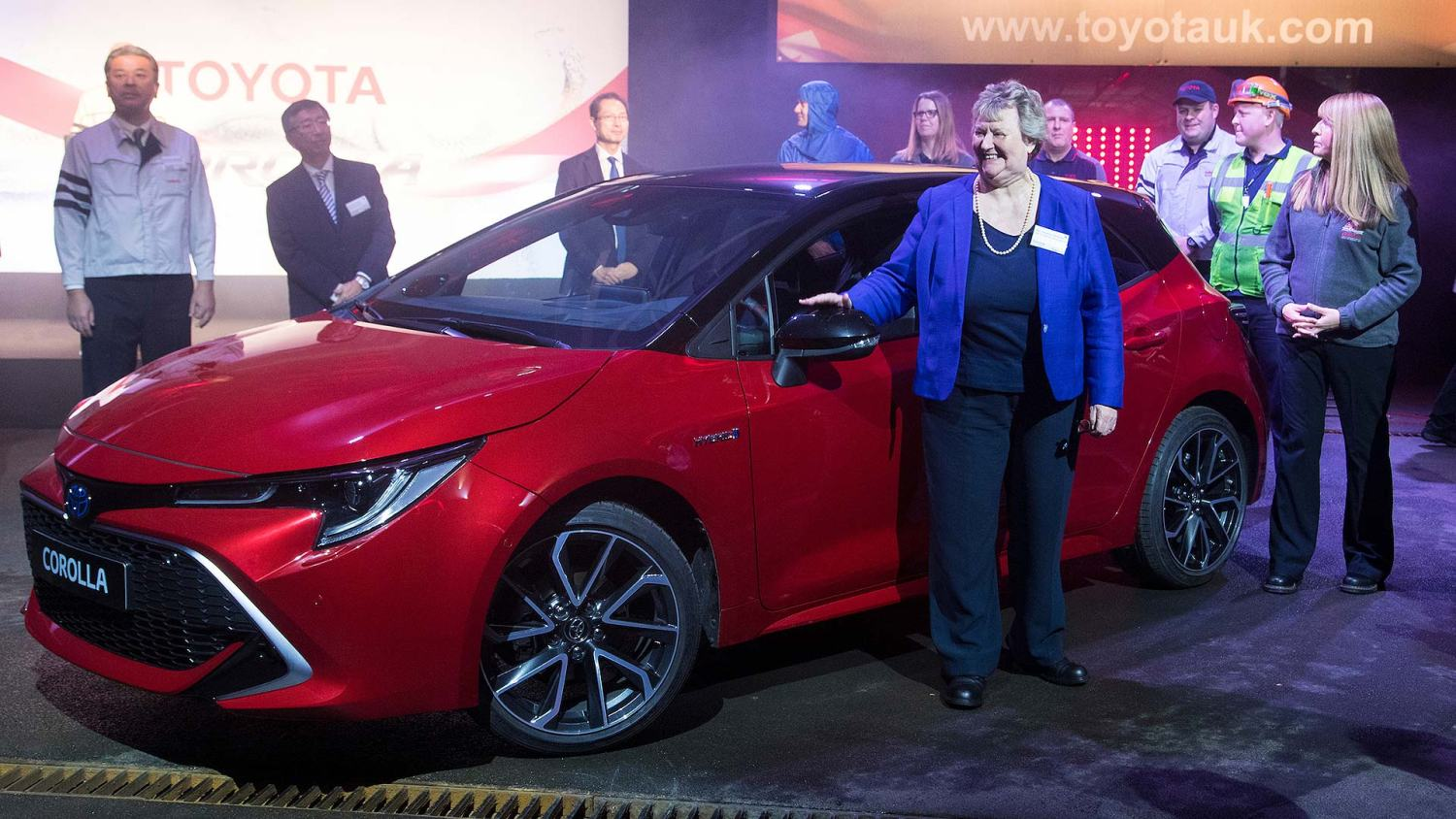 New 2019 Toyota Corolla start of production ceremony
