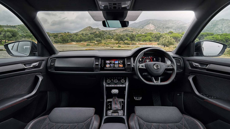 2019 Skoda Kodiaq vRS interior