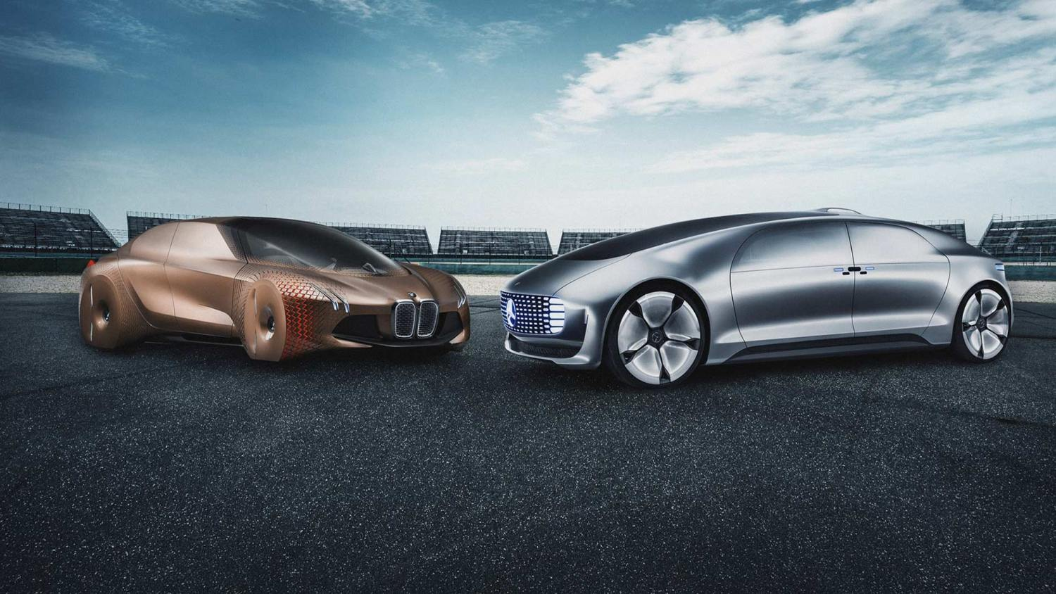 BMW and Mercedes join forces on autonomous tech