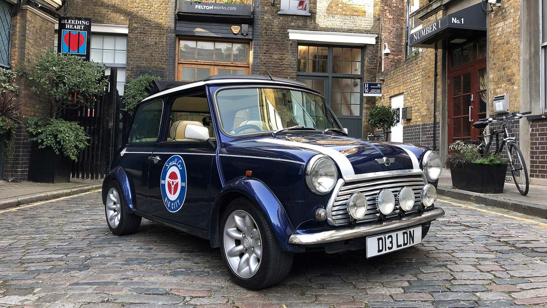 Mini 60th anniversary drive in London