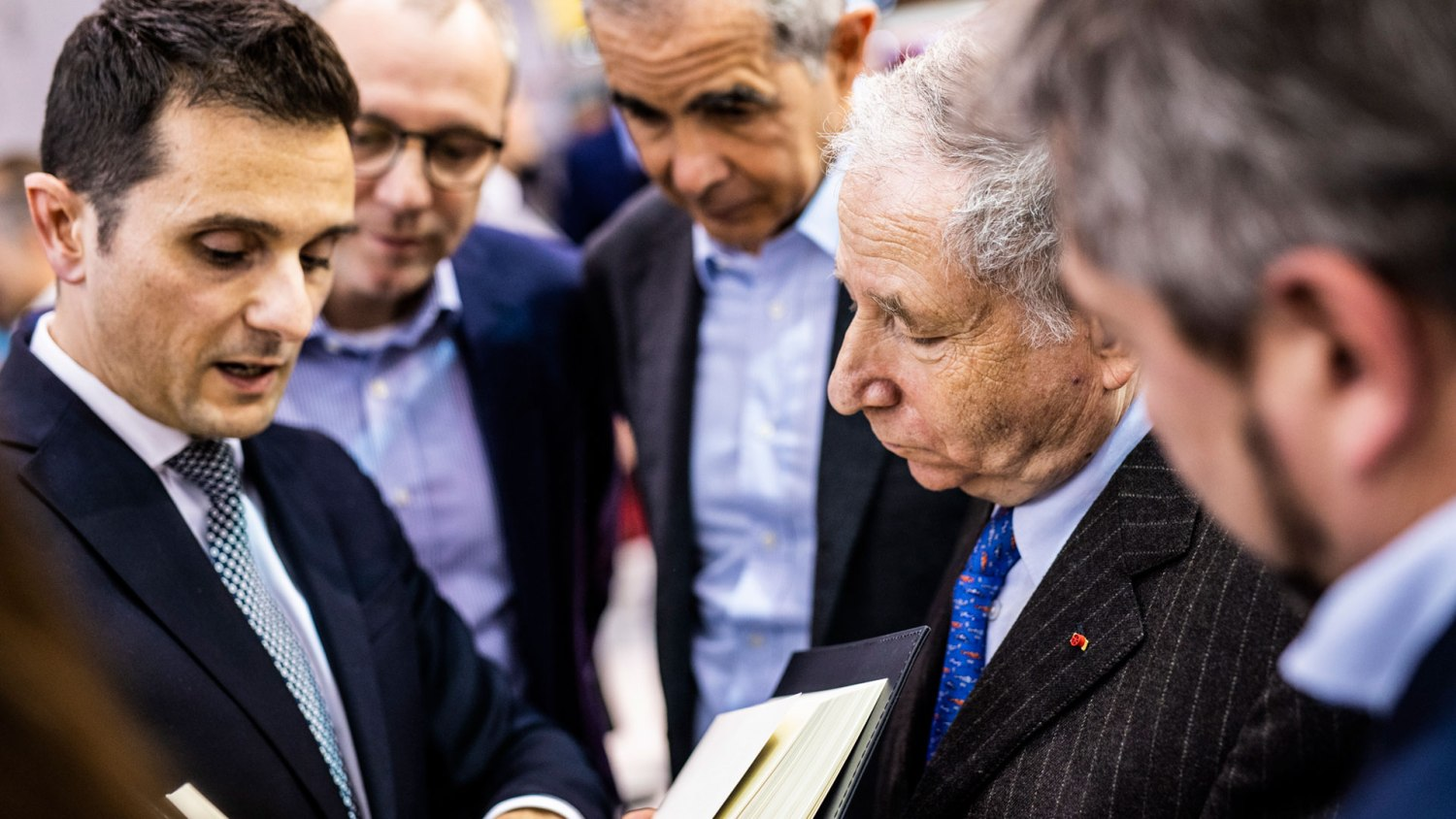 Jean Todt at Retromobile 2019