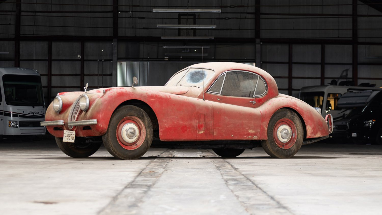 Bring a Trailer 1952 Jaguar XK120 Barn Find