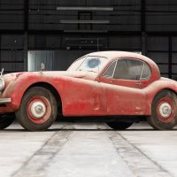 Freed from captivity: you could buy this unrestored 1952 Jaguar XK120 project