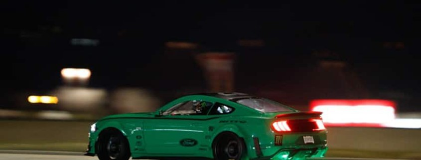 2019 Ford Mustang RTR four leaf clover drift