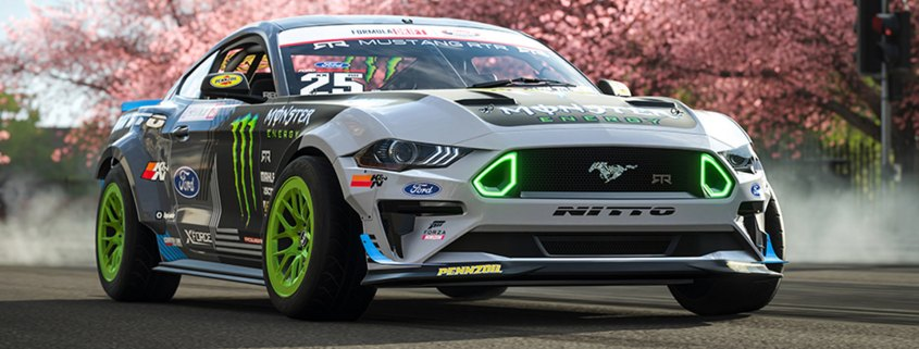 2019 Forza Ford Mustang RTR
