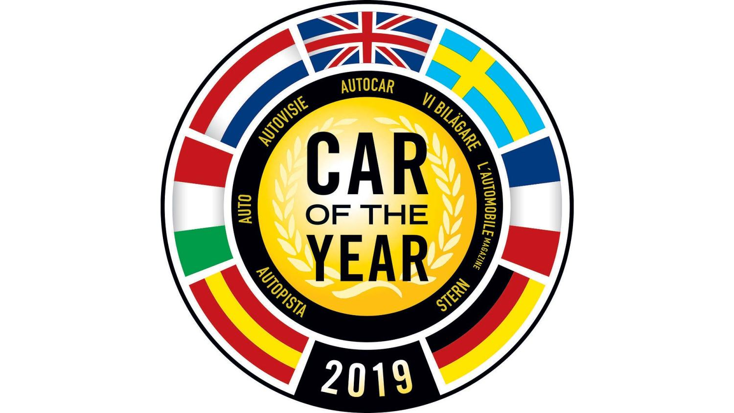Car of the Year 2019 logo