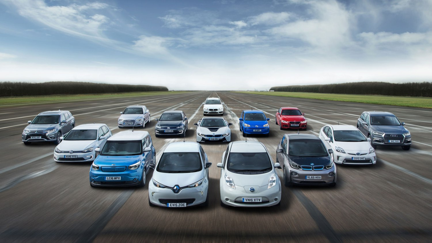 Electric car range UK