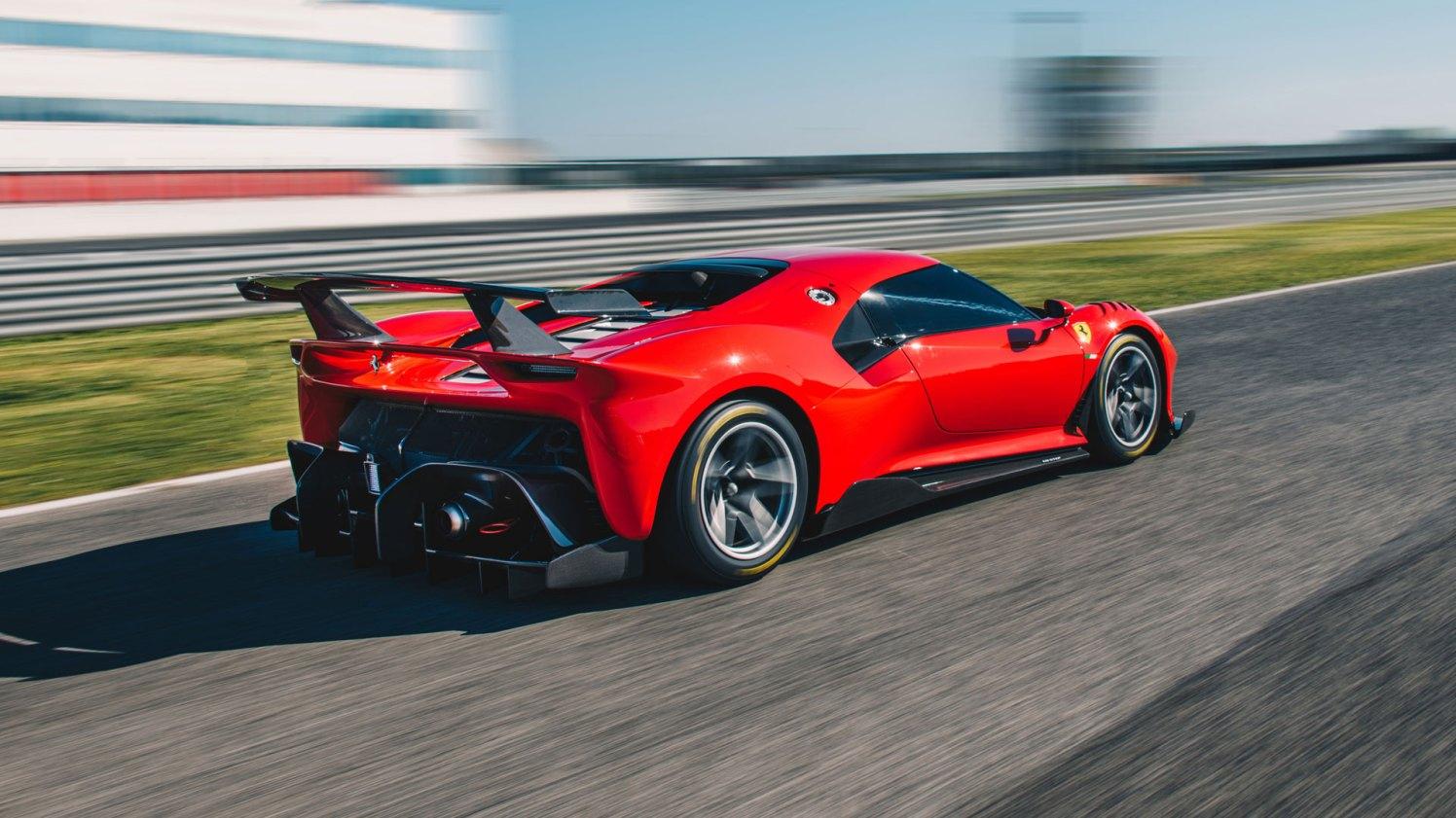 Ferrari P80-C testing