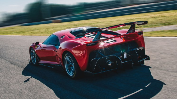 Ferrari P80-C track