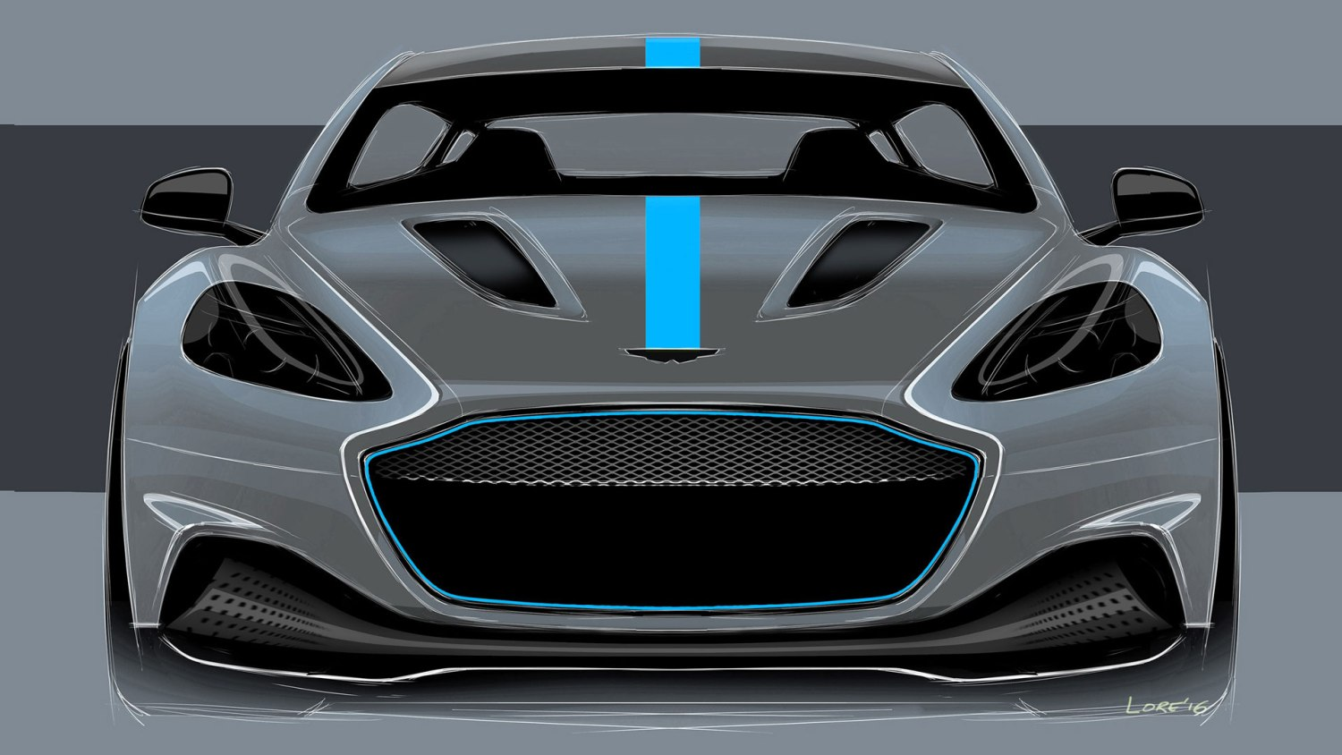 James Bond Aston Martin electric car