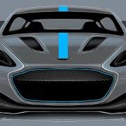 James Bond Aston Martin electric car