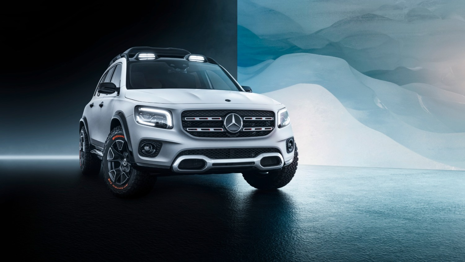 Mercedes-Benz GLB concept previews 'robust' small SUV