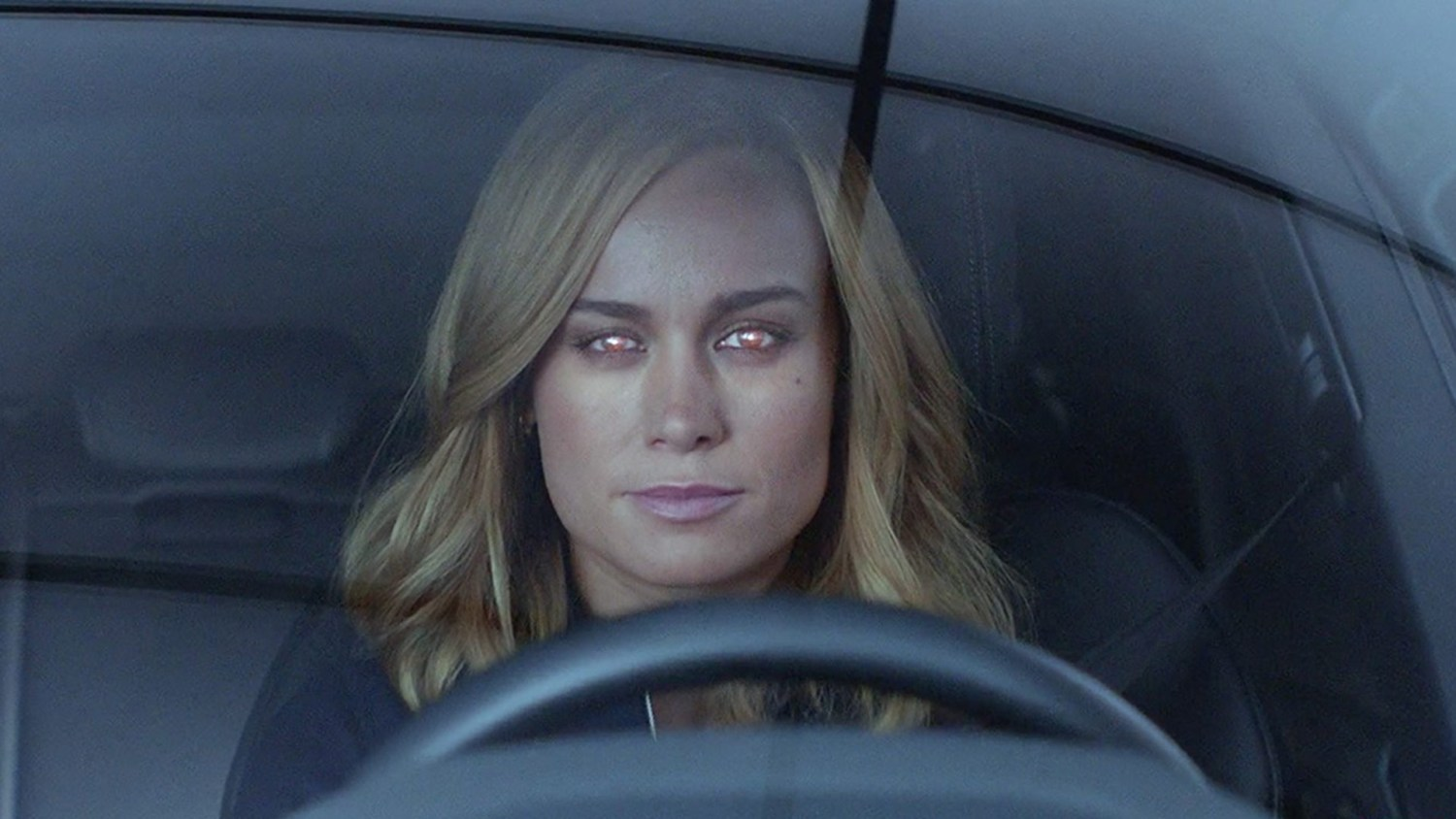Captain Marvel meets the Audi e-tron SUV