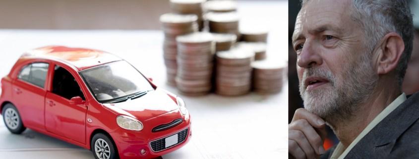 Corbyn Labour busses car tax