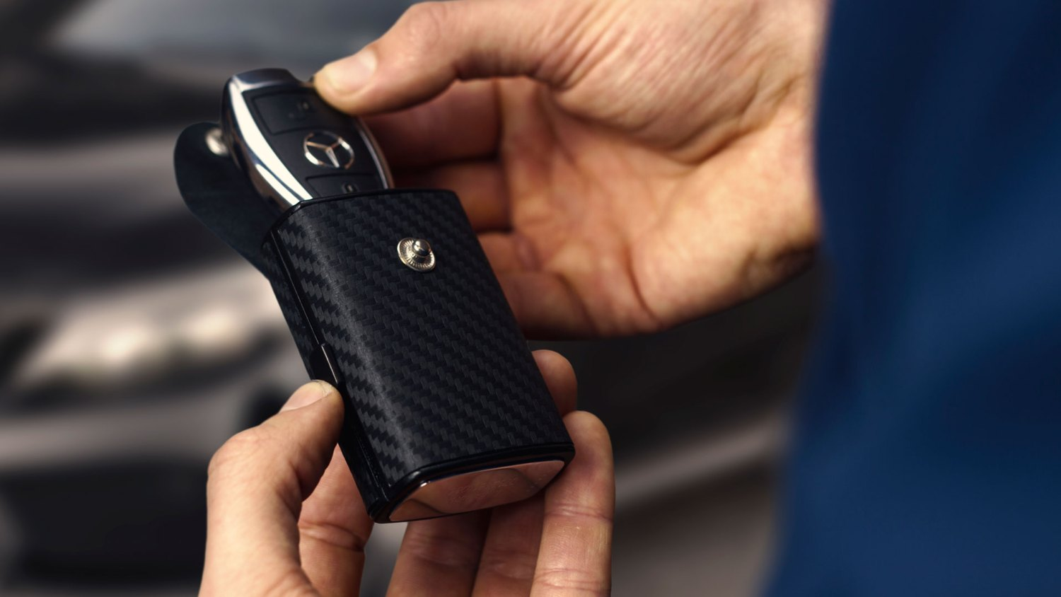 Is this the most stylish way to beat keyless car theft?