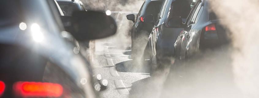 Smoking car exhausts