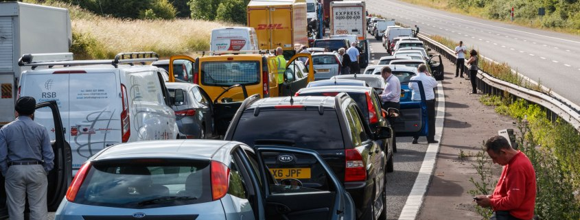 traffic congestion uk