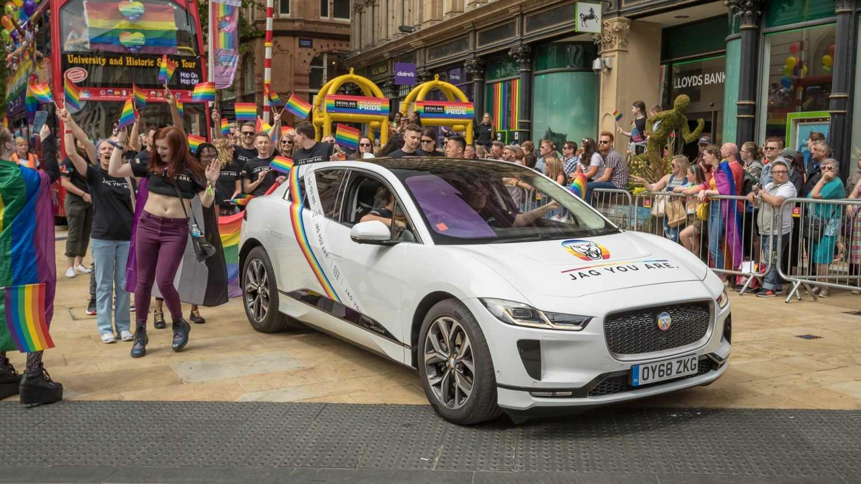 Jaguar I-Pace at Birmingham Pride 2019 CLICK TO SEE MORE