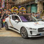 Jaguar I-Pace at Birmingham Pride 2019 CLICK TO SEE MORE