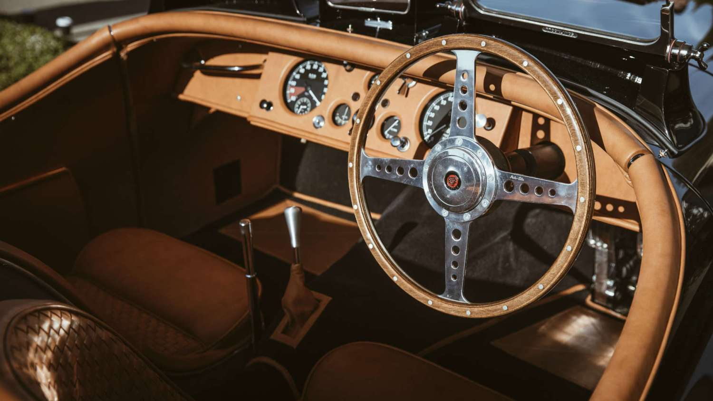 Jaguar Classic XK120 David Gandy