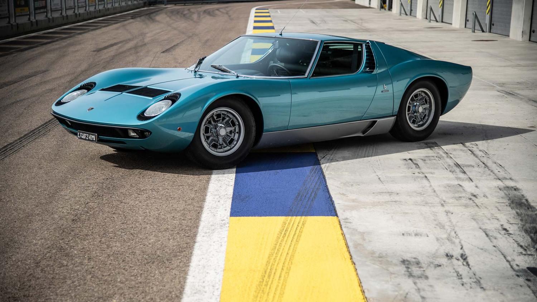 Little Tony's Lamborghini Miura restored by Polo Storico