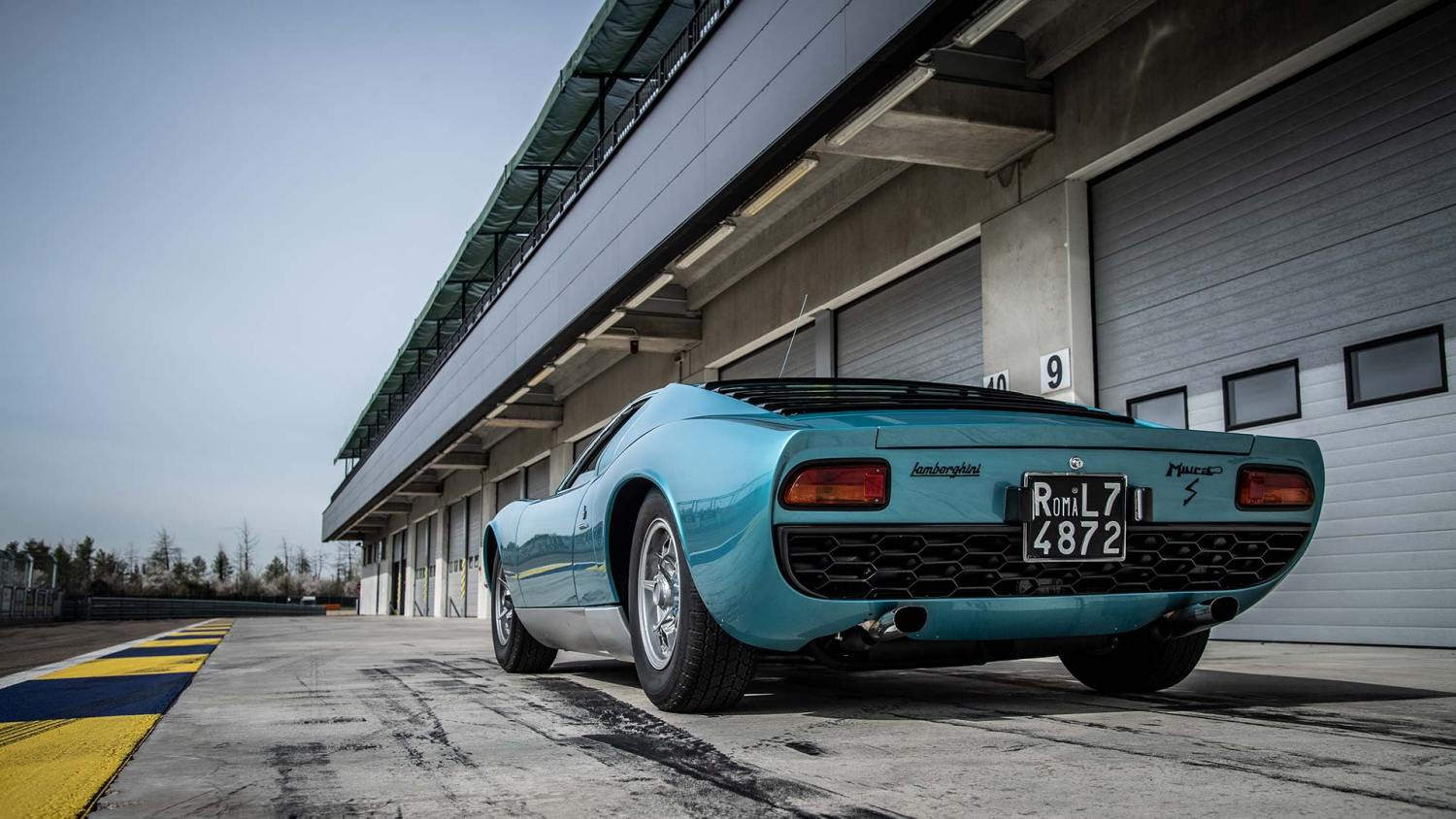 Little Tony's Lamborghini Miura restored by Polo Storico