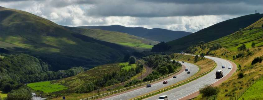 M6 Cumbria favourite driving route