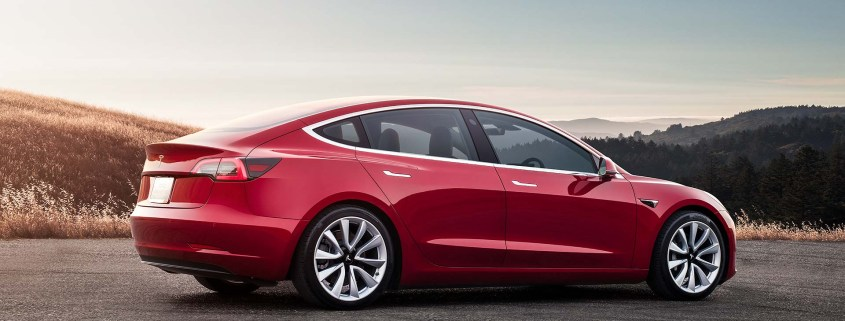 Tesla Model 3 UK ordering