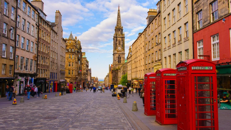 Edinburgh open streets