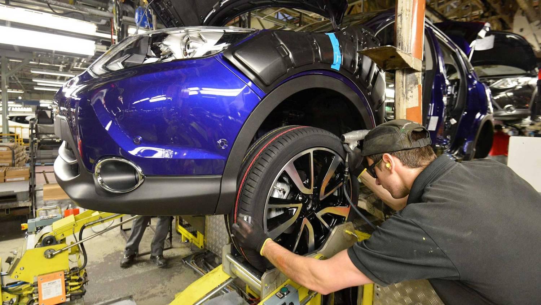 Nissan Qashqai car production in Sunderland