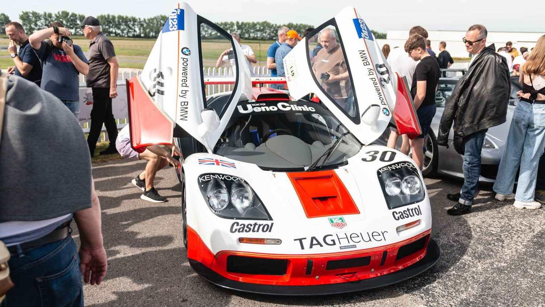 McLaren F1 GTR at Goodwood Supercar Sunday