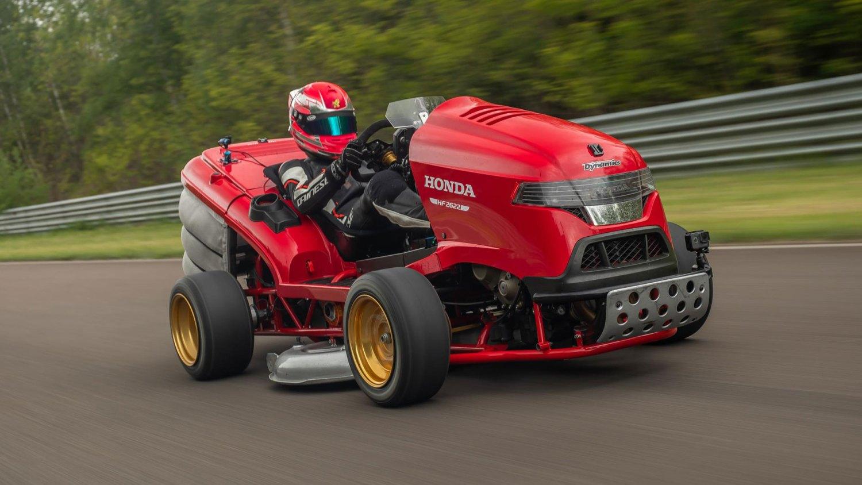 Fastest mower