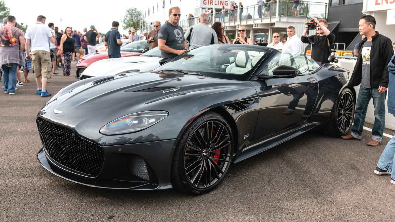 Aston Martin DBS Superleggera Volante at Goodwood Supercar Sunday