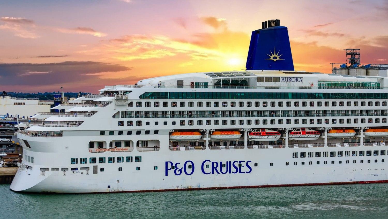 Aurora cruise ship Southampton