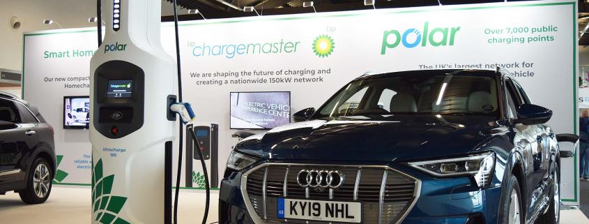BP Chargemaster 150kW rapid charger