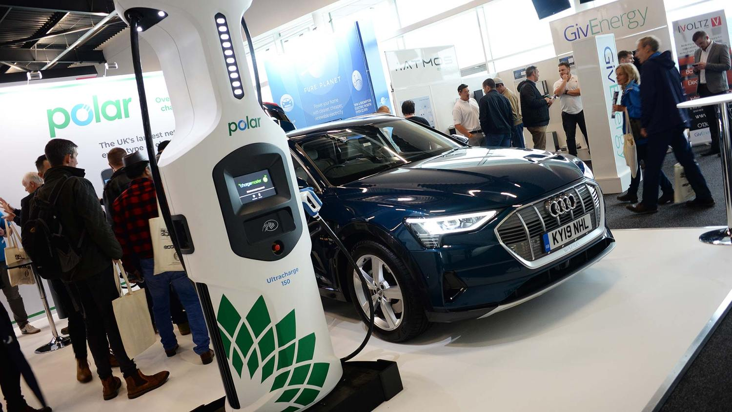 Fully Charged Live 150kw rapid charger