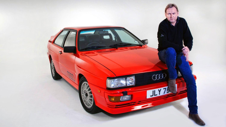Gene Hunt Audi Quattro