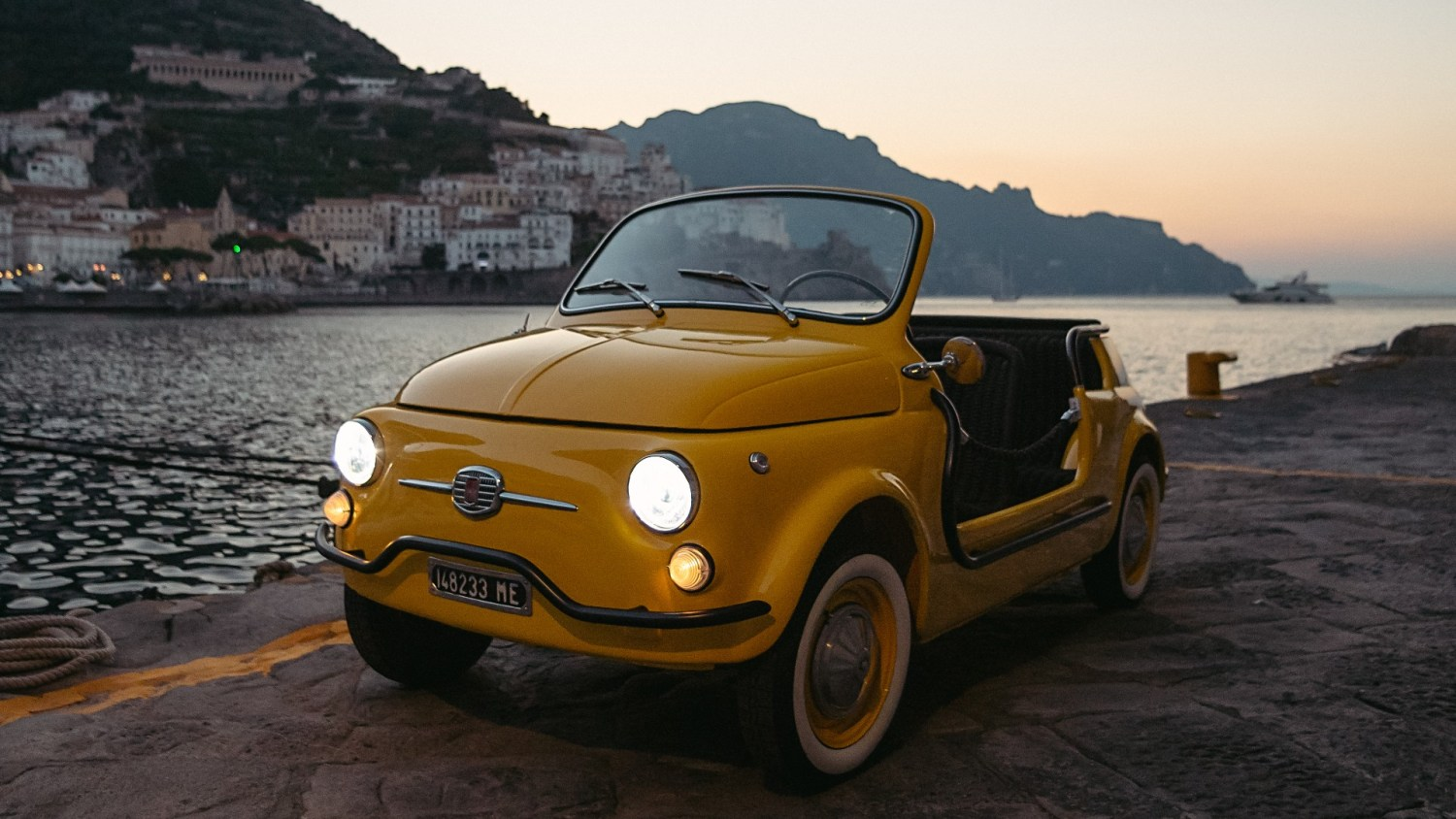 Electric Fiat 500 Jolly Is The Ultimate Holiday Hire Car