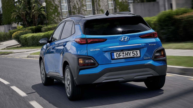 Hyundai Kona Hybrid specs