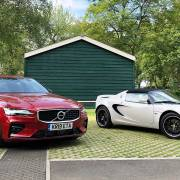 Volvo and Lotus at Bicester Heritage