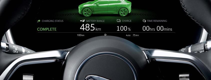 Jaguar I-Pace green icon