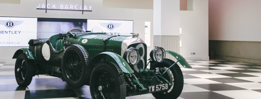 Bond's Bentleys heading to Jack Barclay Bentley