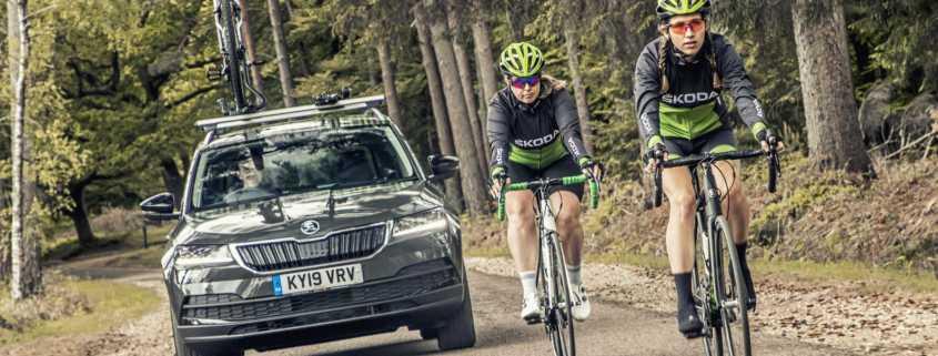 Skoda Karoq Velo is the perfect cycling vehicle