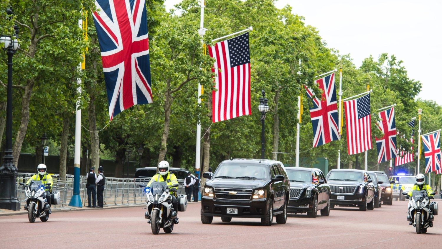 Diplomats owe the UK £111million in motoring fines
